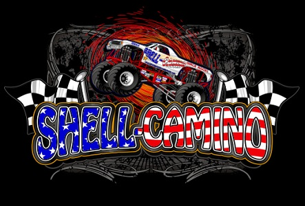 Image result for shell camino monster truck